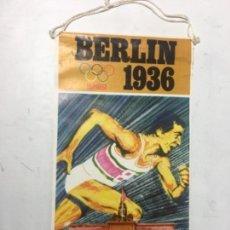 Banderines de colección: ORIGINAL ANTIGUO BANDERÍN COLECCIÓN BIMBO 10 BERLÍN 1936. Lote 164544470