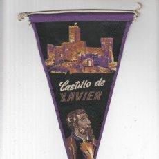 Banderines de colección: BANDERIN: JAVIER, NAVARRA - CASTILLO DE XAVIER/JAVIER. Lote 103219650