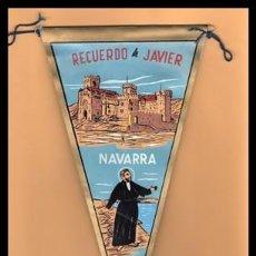 Banderines de colección: BANDERIN, NAVARRA, RECUERDO DE JAVIER.. Lote 167728588