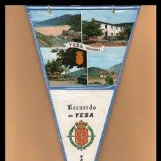 Banderines de colección: BANDERIN, NAVARRA, RECUERDO DE YESA.. Lote 167825344