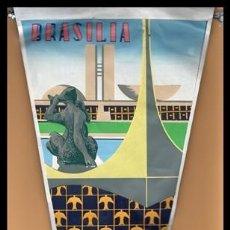 Banderines de colección: BANDERIN, BRASIL. BRASILIA.. Lote 167982076