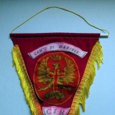 Banderines de colección: BANDERIN MILITAR CAMPAMENTO DE MARINES CIR 7 . Lote 168270240
