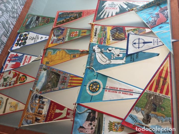 Banderines de colección: Lote banderines años 60/70 - Foto 2 - 168861305