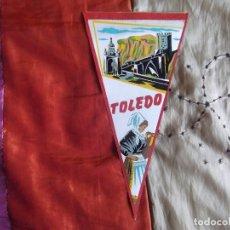 Banderines de colección: BANDERINES-V39-ANTIGUO-26X14CM-ESPAÑA-TOLEDO. Lote 168905484