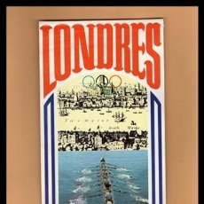 Banderines de colección: X BANDERIN, LONDRES 1908 (BIMBO).. Lote 169214396