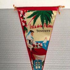 Banderines de colección: BANDERIN DE TENERIFE AÑOS 60. Lote 169239332
