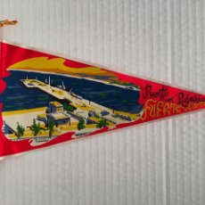 Banderines de colección: BANDERIN DE FUERTEVENTURA AÑOS 60. Lote 169239516