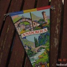 Banderines de colección: BANDERIN ANDORRA . Lote 170168932