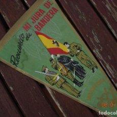 Banderines de colección: BANDERIN RECUERDO MI JURA DE BANDERA SANT CLIMENT SESCEBES. Lote 170468452