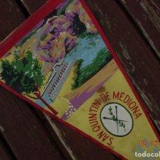 Banderines de colección: BANDERIN LES DEUS SANT QUINTI DE MEDIONA. Lote 170468608