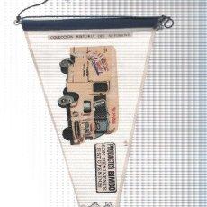 Banderines de colección: BANDERIN: FURGONETA DE REPARTO BIMBO - BIMBO COLECCION HISTORIA DEL AUTOMOVIL (18A). Lote 104117758