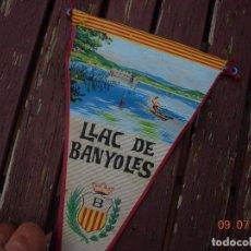 Banderines de colección: BANDERIN LLAC DE BANYOLES. Lote 170577355