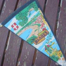 Banderines de colección: BANDERIN BLANES COSTA BRAVA. Lote 170898775