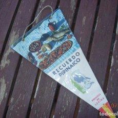 Banderines de colección: BANDERIN PIRINEOS DE LERIDA LLEIDA BODEGON. Lote 170898915