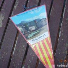 Banderines de colección: BANDERIN GOSOL BERGUEDA. Lote 170899205