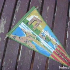 Banderines de colección: BANDERIN TORREDEMBARRA TARRAGONES COSTA DAURADA DORADA. Lote 170899880