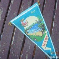 Banderines de colección: BANDERIN SALOU TARRAGONES COSTA DAURADA DORADA. Lote 170900020