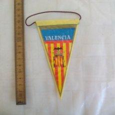 Banderines de colección: ANTIGUO BANDERÍN DE VALENCIA, AÑOS 60-70. Lote 170937130