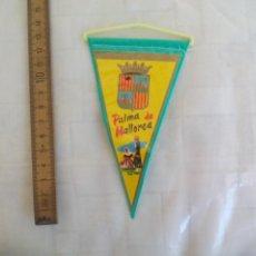 Banderines de colección: ANTIGUO BANDERÍN DE PALMA DE MALLORCA, AÑOS 60-70. Lote 170937185
