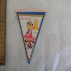 Banderines de colección: ANTIGUO BANDERÍN DE SEVILLA, AÑOS 60-70. Lote 170937245
