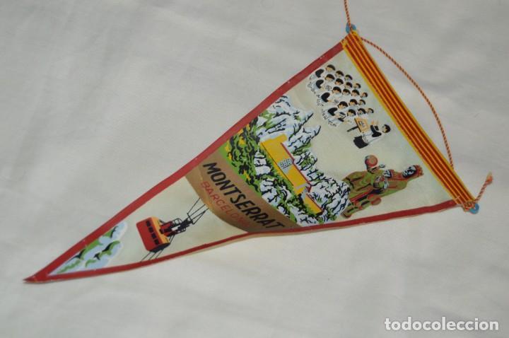 Banderines de colección: Vintage - LOTE 2 BANDERINES - BARCELONA / MONTSERRAT - PRECIOSOS - AÑOS 60 - HAZ OFERTA! - Foto 6 - 171026797