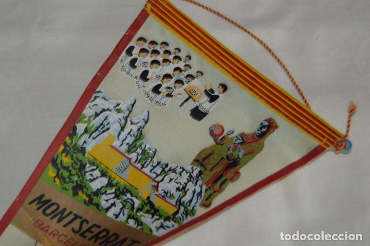 Banderines de colección: Vintage - LOTE 2 BANDERINES - BARCELONA / MONTSERRAT - PRECIOSOS - AÑOS 60 - HAZ OFERTA! - Foto 7 - 171026797