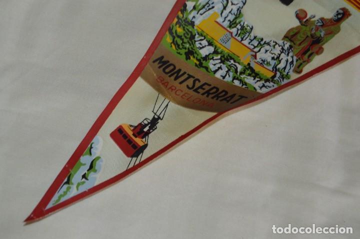 Banderines de colección: Vintage - LOTE 2 BANDERINES - BARCELONA / MONTSERRAT - PRECIOSOS - AÑOS 60 - HAZ OFERTA! - Foto 8 - 171026797