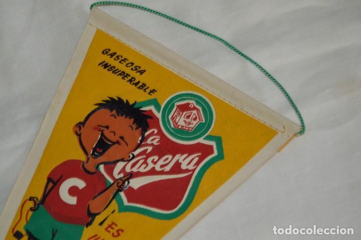 Banderines de colección: ANTIGUO BANDERÍN - TORREMOLINOS GASEOSA LA CASERA - VINTAGE - AÑOS 60 - HAZ OFERTA - Foto 2 - 171027565