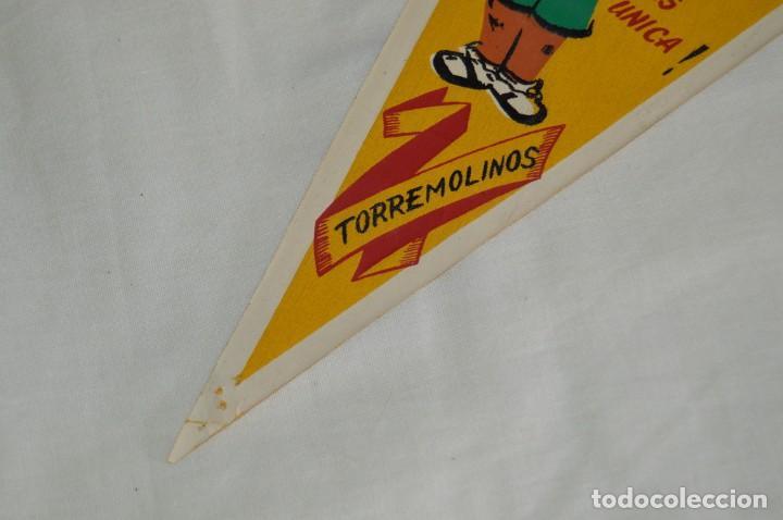 Banderines de colección: ANTIGUO BANDERÍN - TORREMOLINOS GASEOSA LA CASERA - VINTAGE - AÑOS 60 - HAZ OFERTA - Foto 4 - 171027565