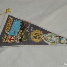 Banderines de colección: VINTAGE - ANTIGUO BANDERÍN - NUESTRA SEÑORA DEL MAR ALMERÍA - AÑOS 60 - SOUVENIR - HAZ OFERTA. Lote 171170128