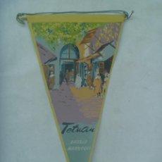 Banderines de colección: PROTECTORADO : BANDERIN DE TETUAN , BARRIO MARROQUI. AÑOS 50. Lote 171874988