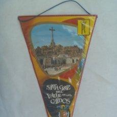 Banderines de colección: BANDERIN DEL VALLE DE LOS CAIDOS . AGUILA DE SAN JUAN . DE PATRIMONIO NACIONAL. Lote 172152763