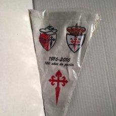 Banderines de colección: BANDERIN 100 AÑOS DEL CLUB FUTBOL CARABANCHEL. Lote 172241875