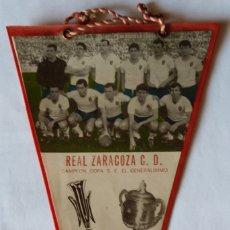 Banderines de colección: REAL ZARAGOZA C.D. 1965-1966. Lote 175580579