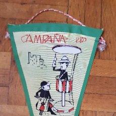 Banderines de colección: BANDERÍN CAMPAÑA PRO SEMINARIO CON GUARDIA URBANO AÑOS 50 - 60. Lote 175951357