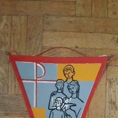 Banderines de colección: BANDERÍN ESCOGE SEÑOR PARA TU SERVICIO A UNO MÁS DE NUESTRA FAMILIA. Lote 175951517