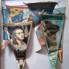 Banderines de colección: BANDERINES DE MURCIA.. Lote 176029378