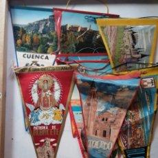 Banderines de colección: BANDERINES DE ALBACETE,CUENCA,TOLEDO Y OTROS.. Lote 177617684