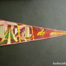 Banderines de colección: ANTIGUO BANDERÍN BELLO HORIZONTE. BRASIL. 53 X 18 CM . Lote 178682923