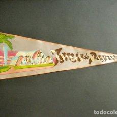 Banderines de colección: ANTIGUO BANDERÍN IGREJA DA PAMPULHA. BRASIL. RÍO. 52 X 18 CM . Lote 178683613