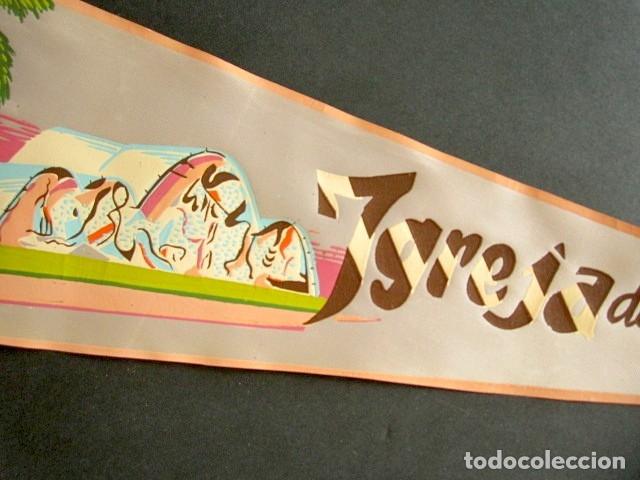 Banderines de colección: ANTIGUO BANDERÍN IGREJA DA PAMPULHA. BRASIL. RÍO. 52 X 18 CM - Foto 2 - 178683613