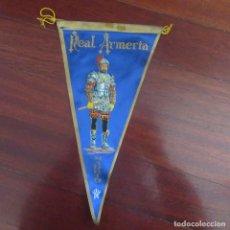Banderines de colección: ANTIGUO BANDERIN FRANQUISTA ARMERIA MADRID. Lote 178775962