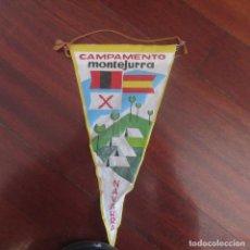 Banderines de colección: ANTIGUO BANDERIN FRANQUISTA CARLISTA REQUETE. Lote 178776035