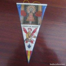 Banderines de colección: ANTIGUO BANDERIN FRANQUISTA CARLISTA REQUETE. Lote 178776118