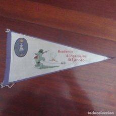 Banderines de colección: ANTIGUO BANDERIN FRANQUISTA MILITAR INGENIEROS. Lote 178776347