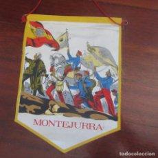 Banderines de colección: ANTIGUO BANDERIN FRANQUISTA CARLISTA REQUETE. Lote 178777055