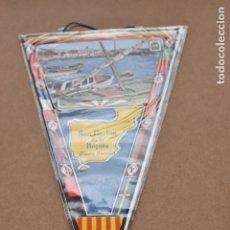 Banderines de colección: BANDERIN DE TARRAGONA SAN CARLOS DE LA RÁPITA COSTA DORADA. Lote 179545953