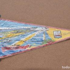 Banderines de colección: BANDERIN DE SALINAS SAN FERNANDO ASTURIAS. Lote 179546166