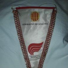 Banderines de colección: ANTIGUO BANDERÍN GENERALITAT DE CATALUNYA DIRECCIÓ GENERAL D´ESPORT. Lote 180486057