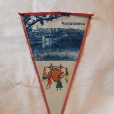Banderines de colección: ANTIGUO BANDERÍN PUIGCERDÁ. Lote 180492500